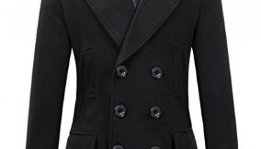 Mens Wool Trench Coat Double Breasted April 2018 Update