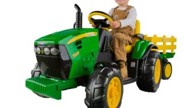 Peg Perego John Deere Ground Force Tractor April 2018 Update